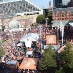 Fort Worth, TX - September 5, 2015 - Sundance Square: The set of College GameDay Built by the Home Depot (Photo by Scott Clarke / ESPN Images)