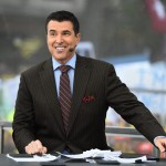Ann Arbor, MI - October 17, 2015 - University of Michigan: Rece Davis on the set of College GameDay Built by the Home Depot (Photo by Joe Faroni / ESPN Images)