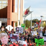 Waco, TX - November 14, 2015 - McLane Stadium: Fans on the set of College GameDay Built by the Home Depot (Photo by Joe Faraoni / ESPN Images)