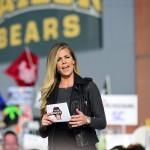 Waco, TX - November 14, 2015 - McLane Stadium: Samantha Ponder on the set of College GameDay Built by the Home Depot (Photo by Joe Faraoni / ESPN Images)