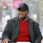 Columbus, OH - November 21, 2015 - Ohio State University: Archie Griffin on the set of College GameDay Built by the Home Depot (Photo by Allen Kee / ESPN Images)