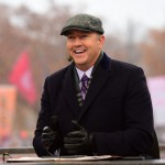 Stillwater, OK - November 28, 2015 - Oklahoma State University: Kirk Herbstreit on the set of College GameDay Built by the Home Depot (Photo by Phil Ellsworth / ESPN Images)