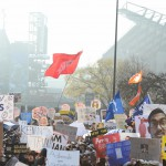 Philadelphia, PA - December 12, 2015 - XFinity Center: Fans on the set of College GameDay Built by the Home Depot (Photo by Joe Faraoni / ESPN Images)
