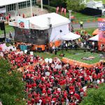Louisville, KY - September 17, 2016 - University of Louisville: Fans on the set of College GameDay Built by the Home Depot (Photo by Phil Ellsworth / ESPN Images)
