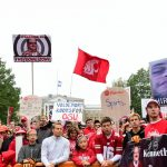 Madison, WI - October 15, 2016 - University of Wisconsin: Fans on the set of College GameDay Built by the Home Depot (Photo by Phil Ellsworth / ESPN Images)