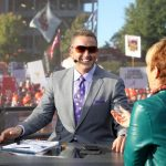 Tuscaloosa, AL - October 21, 2016 - University of Alabama: Kirk Herbstreit on the set of College GameDay Built by the Home Depot (Photo by Allen Kee / ESPN Images)