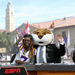 Baton Rouge, LA - November 4, 2016 - LSU Parade Grounds: Lil' Wayne, Lee Corso and Kirk Herbstreit on the set of College GameDay Built by the Home Depot (Photo by Allen Kee / ESPN Images)