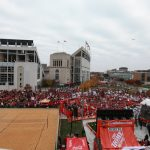 Columbus, OH - November 26, 2016 - Ohio State University: Fans on the set of College GameDay Built by the Home Depot (Photo by Allen Kee / ESPN Images)