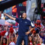 New York, NY - September 23, 2017 - Times Square Studios: Keegan-Michael Key on the set of College GameDay Built by the Home Depot (Photo by Joe Faraoni / ESPN Images)