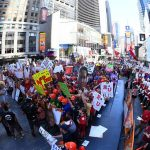 New York, NY - September 23, 2017 - Times Square Studios: Fans on the set of College GameDay Built by the Home Depot (Photo by Joe Faraoni / ESPN Images)