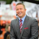 Stillwater, OK - November 4, 2017 - Edmon Low Library: Kirk Herbstreit on the set of College GameDay Built by the Home Depot (Photo by Phil Ellsworth / ESPN Images)