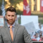 University Park, PA - September 29, 2018 - Pennsylvania State University: Marty Smith on the set of College GameDay Built by the Home Depot (Photo by Allen Kee / ESPN Images)