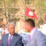 College Station, TX - September 8, 2018 - Aggie Park: Fans on the set of College GameDay Built by the Home Depot (Photo by Phil Ellsworth / ESPN Images)