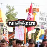Dallas, TX - October 6, 2018 - Fair Park: Fans on the set of College GameDay Built by the Home Depot (Photo by Scott Clarke / ESPN Images)