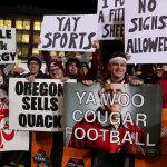 Pullman, WA - October 20, 2018 - Washington State University: Signs on the set of College GameDay Built by the Home Depot (Photo by Allen Kee / ESPN Images)