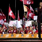 Pullman, WA - October 20, 2018 - Washington State University: Maria Taylor on the set of College GameDay Built by the Home Depot (Photo by Allen Kee / ESPN Images)