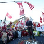 Pullman, WA - October 20, 2018 - Washington State University: Tom Rinaldi on the set of College GameDay Built by the Home Depot (Photo by Allen Kee / ESPN Images)