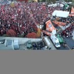 Pullman, WA - October 20, 2018 - Washington State University: Overhead on the set of College GameDay Built by the Home Depot (Photo by Allen Kee / ESPN Images)