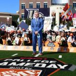 Orlando, FL - November 17, 2018 - University of Central Florida: Tom Rinaldi on the set of College GameDay Built by the Home Depot (Photo by Scott Clarke / ESPN Images)