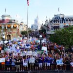 Orlando, FL - August 24, 2019 - Walt Disney World: Fans during College GameDay Built by the Home Depot (Photo by Phil Ellsworth / ESPN Images)