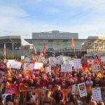Ames, IA - September 14, 2019 - Iowa State University: Fans during College GameDay Built by the Home Depot (Photo by Scott Clarke / ESPN Images)