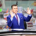 Ames, IA - September 14, 2019 - Iowa State University: Rece Davis on the set of College GameDay Built by the Home Depot (Photo by Scott Clarke / ESPN Images)