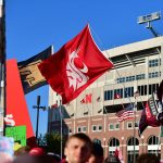Lincoln, NE - September 28, 2019 - University of Nebraska: Washington State flag during College GameDay Built by the Home Depot (Photo by Phil Ellsworth / ESPN Images)