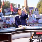 Tuscaloosa, AL - November 9, 2019 - University of Alabama: Rece Davis on the set of College GameDay Built by the Home Depot (Photo by Phil Ellsworth / ESPN Images)