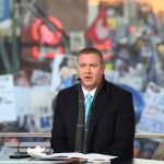 Memphis, TN - November 2, 2019: Kirk Herbstreit on the set of College GameDay Built by the Home Depot (Photo by Scott Clarke / ESPN Images)