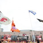 Atlanta, GA - December 7, 2019 - Mercedes-Benz Stadium: College GameDay Built by the Home Depot during the 2019 SEC Championship Game (Photo by Allen Kee / ESPN Images)
