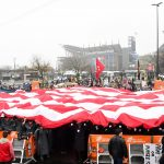 Philadelphia, PA - December 14, 2019 - Lincoln Financial Field: Fans during College GameDay Built by the Home Depot (Photo by Scott Clarke / ESPN Images)
