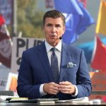 Dallas, TX - October 9, 2021 - Cotton Bowl Stadium: Rece Davis during College GameDay Built by the Home Depot.(Photo by Allen Kee / ESPN Images)